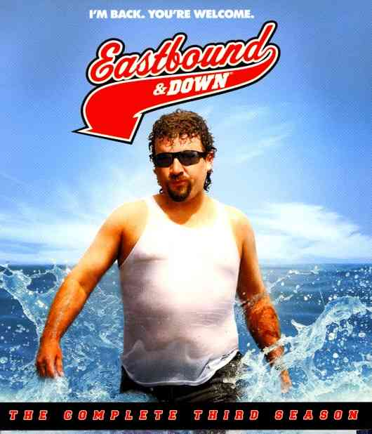 EASTBOUND & DOWN:COMPLETE THIRD SSN BY EASTBOUND & DOWN (Blu-Ray)